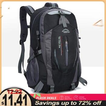 Quality Nylon Waterproof Travel Backpacks Men Climbing Travel Bags Hiking Backpack Outdoor Camping Sport Bag Men Backpack Women