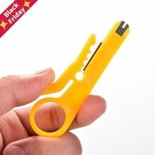 Портативный нож для зачистки проводов щипцы плоскогубцы обжимной инструмент отрезной линии карманный кабель зачистки проводов резак мульти инструменты