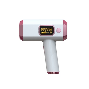 IPL Hair Removal System, Home Electric Painless ICE Epilator,Permanent Hair Removal Device with Press LCD Screen EU Plug