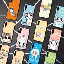 Chi Sweet Home Phone Case Capa Para Samsung Galaxy A7 9 8 10 20 20e 21 S 30 30S 31 41 50 50S 51 70 71 91 preto Bumper 3D
