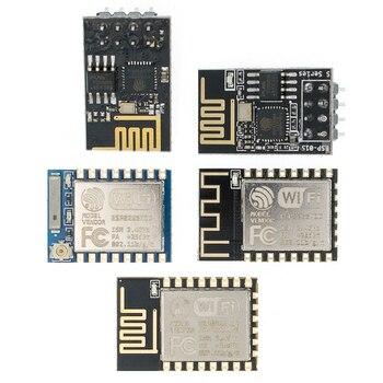 ESP8266 ESP-01 ESP-01S ESP-07 ESP-12E ESP-12F zdalny port szeregowy moduł bezprzewodowy WIFI inteligentny systemu mieszkalnictwa Adapter 2.4G