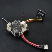 Happymodel mobula6 parte crazybee f4 lite 1s controlador de vôo aio esc frsky flysky receptor & 25mw vtx para rc zangão palito