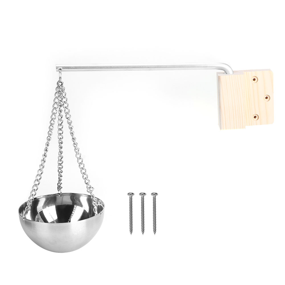 Stainless Steel Sauna Aroma Bowl Cup Essential Oil Bowl Sauna Room Accessories Aromatherapy Essential Oil Bowl Dry Steam Room
