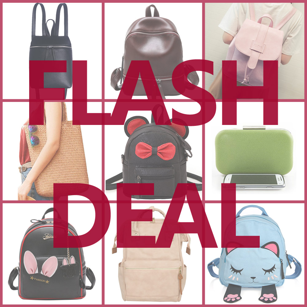 Flash Deal Fashion Backpack Low Price Women Backpacks Black Friday Special