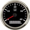 Тахометр автомобилей Грузовик Лодка тахометр с ЖК-дисплей цифровой счетчик моточасов Водонепроницаемый 3/4/6/7/8k RPM Скорость 85 мм