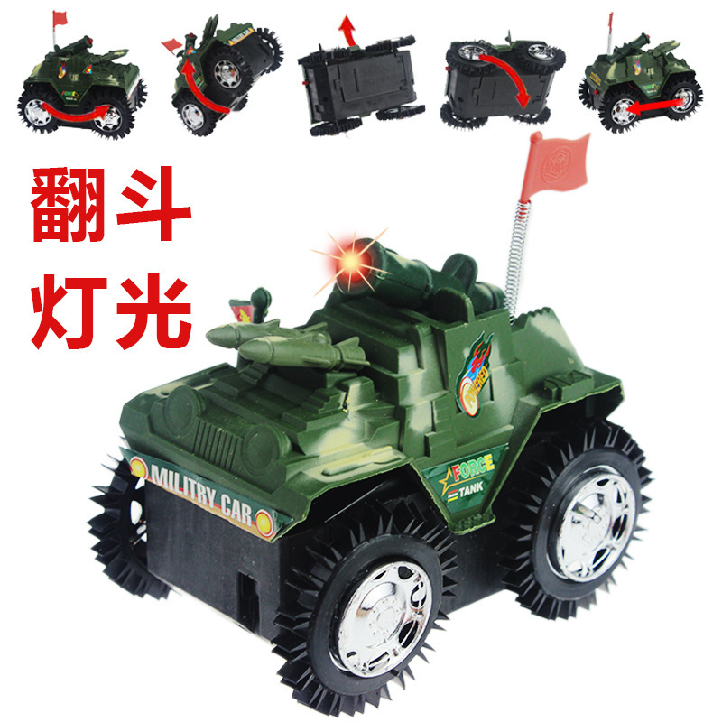 2017 Dump Truck Tank Toys Model Children Electric Shining Stall Hot Selling Night Market Square New Supply Of Goods