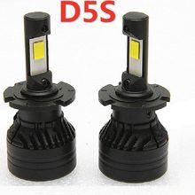 2 pcs canbus error free 60W auto white 12v D5S led headlight lamp
