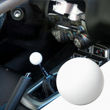 Shift Knob Adapter Kit Universal Car Gear Shifter Lever Round Ball Shape White for most manual car shifter high quality