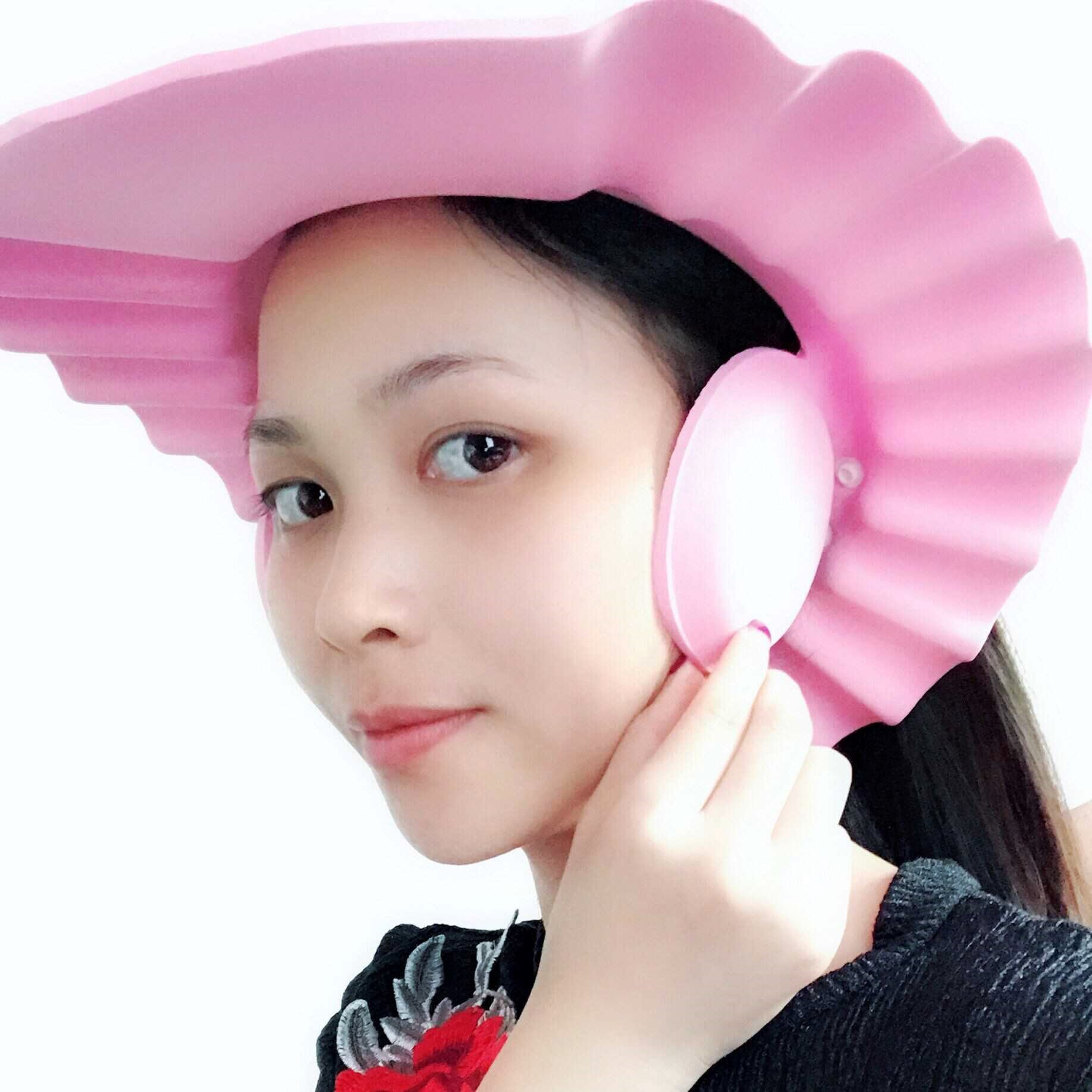 Shower Cap Earmuff Eye Protection Adults Adult Extra-large Large Size Big Kid Hair Useful Product Children Earmuff Earmuff Water