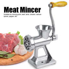Household Kitchen Manual Meat Grinder Meat Crushed Tools Hand Crank Meat Pepper Mincer Grinding Machine Kitchen Meat Brokentopie