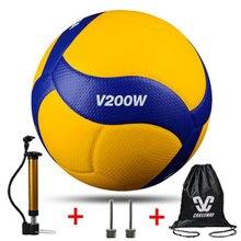 Стиль, высокое качество, волейбол V200W, Профессиональная игра для соревнований, волейбол 5, Крытый волейбол, Подарочный насос+ игла+ сумка