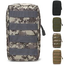 Tactical EDC Molle Pouch Bag Outdoor Vest Waist Pack Hunting Backpack Accessory