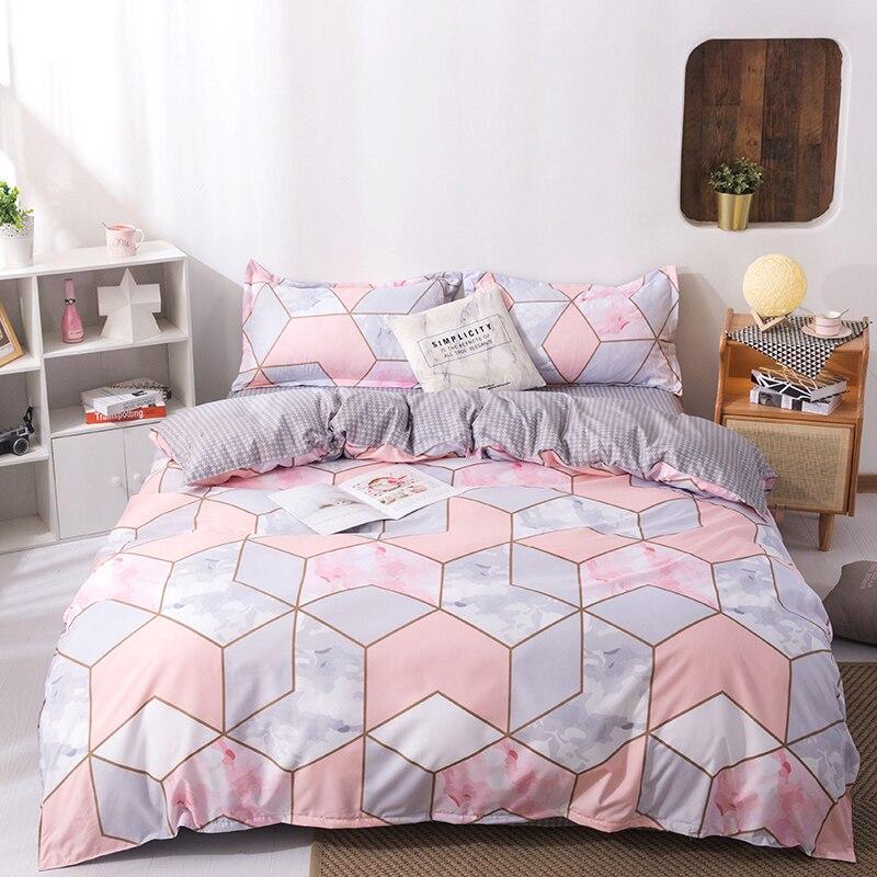 Nordic Style Duvet Cover 220x240,200x200,140x200,135x200 Pillowcase 3pcs Duvet Cover Set,bedding Set,quilt Cover,blanket Cover