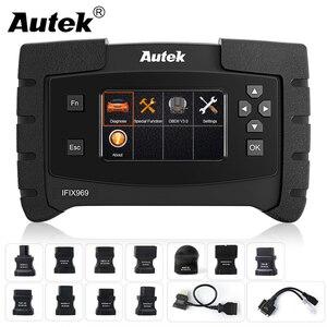 Image 1 - Autek IFIX 969 OBD2 Automotive Scanner Full System Diagnostic Engine Airbag ABS SRS EPB SAS ESP TPMS OBD OBD 2 Car Scanner Tool
