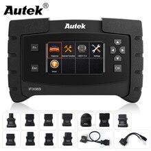 Autek système complet de Scanner automobile, outil de Diagnostic de moteur de voiture, Airbag, ABS/SRS/EPB/SAS/ESP, TPMS, câble OBD2, IFIX 969