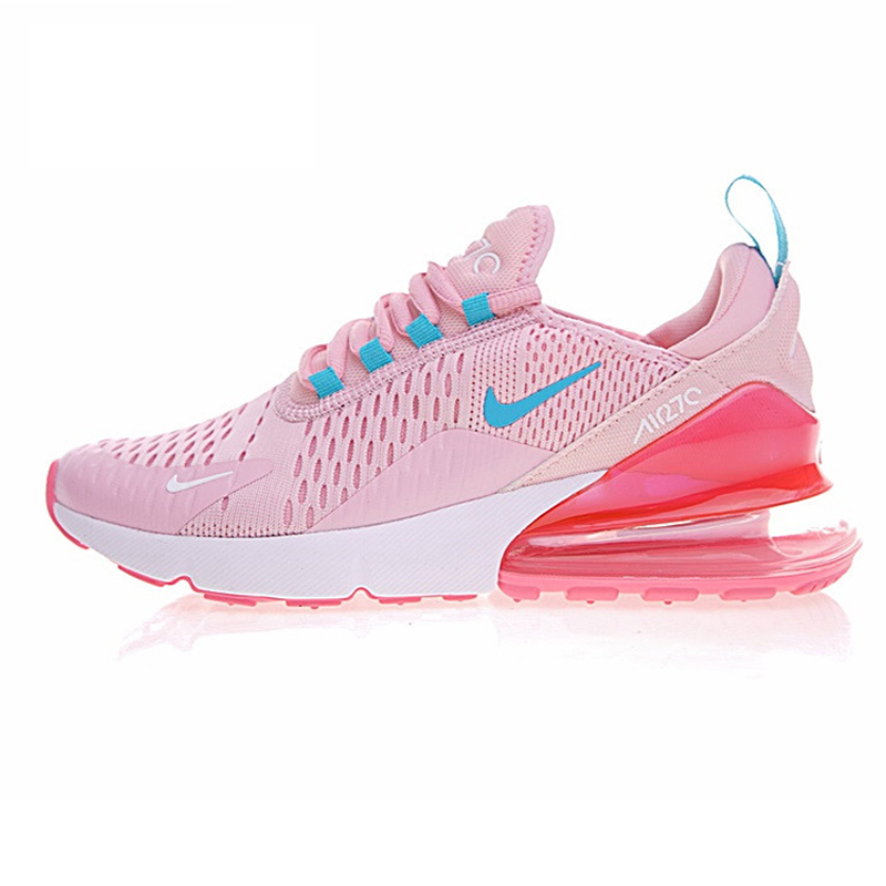 Original Nike Air Max 270 Women's Running Shoes Sneakers Good Quality Sport  Massage Lace-Up Outdoor Athletic Breathable AH8050