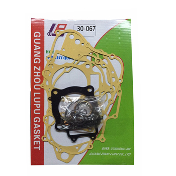 For Honda CRF250 CRF250R 04-09 CRF250X 04-17 Motorcycle Engine Cylinder Top End Clutch Stator Cover Gasket Ring Seals Kit image