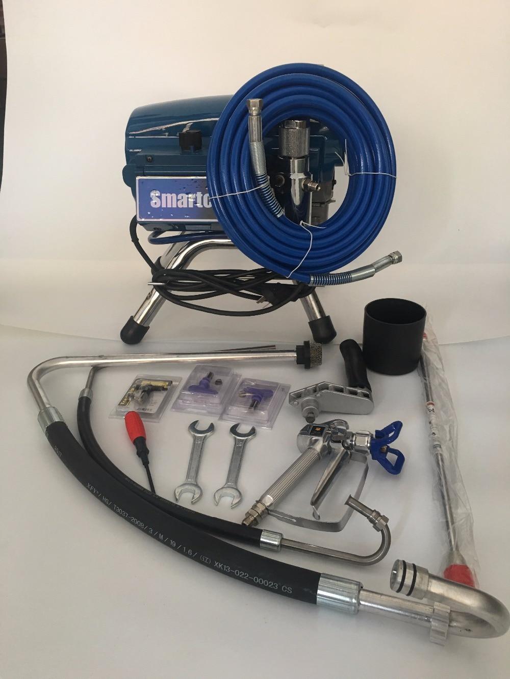 Model 695 Electric Airless Paint Sprayer 2800W 3.5Min/L PISTON Painting Machine brushless motor