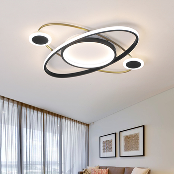 Newly Listed Modern LED Ceiling Lights Fixture Living Room Study Bedroom Kitchen Surface Mount Remote Control Ceiling lamp 1