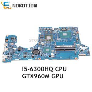 Nokotion 14302-1 m 448.06b09.001m para acer aspire VN7-592 VN7-592g placa-mãe do portátil sr2fp I5-6300HQ cpu gtx960m gpu