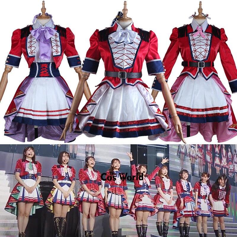 Love Live μ's 9th Revival Concert 9 Characters Kousaka Honoka Minami Kotori Sonoda Umi Ayase Eli Dress Uniform Cosplay Costumes