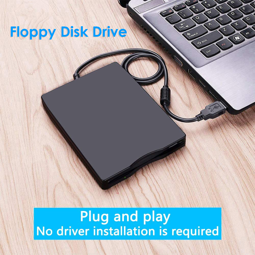 3.5 inch USB Mobile Floppy Disk Drive 1.44MB External Diskette FDD for Laptop Notebook PC Portable