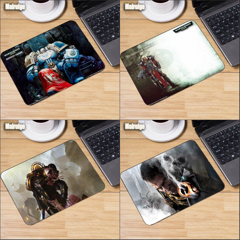 Mairuige Game Mousepad Science Fiction Game Mousepad War Hammer 40K Gaming Mousepads Computer Pc Laptop Mousemat Lol Dota2 image