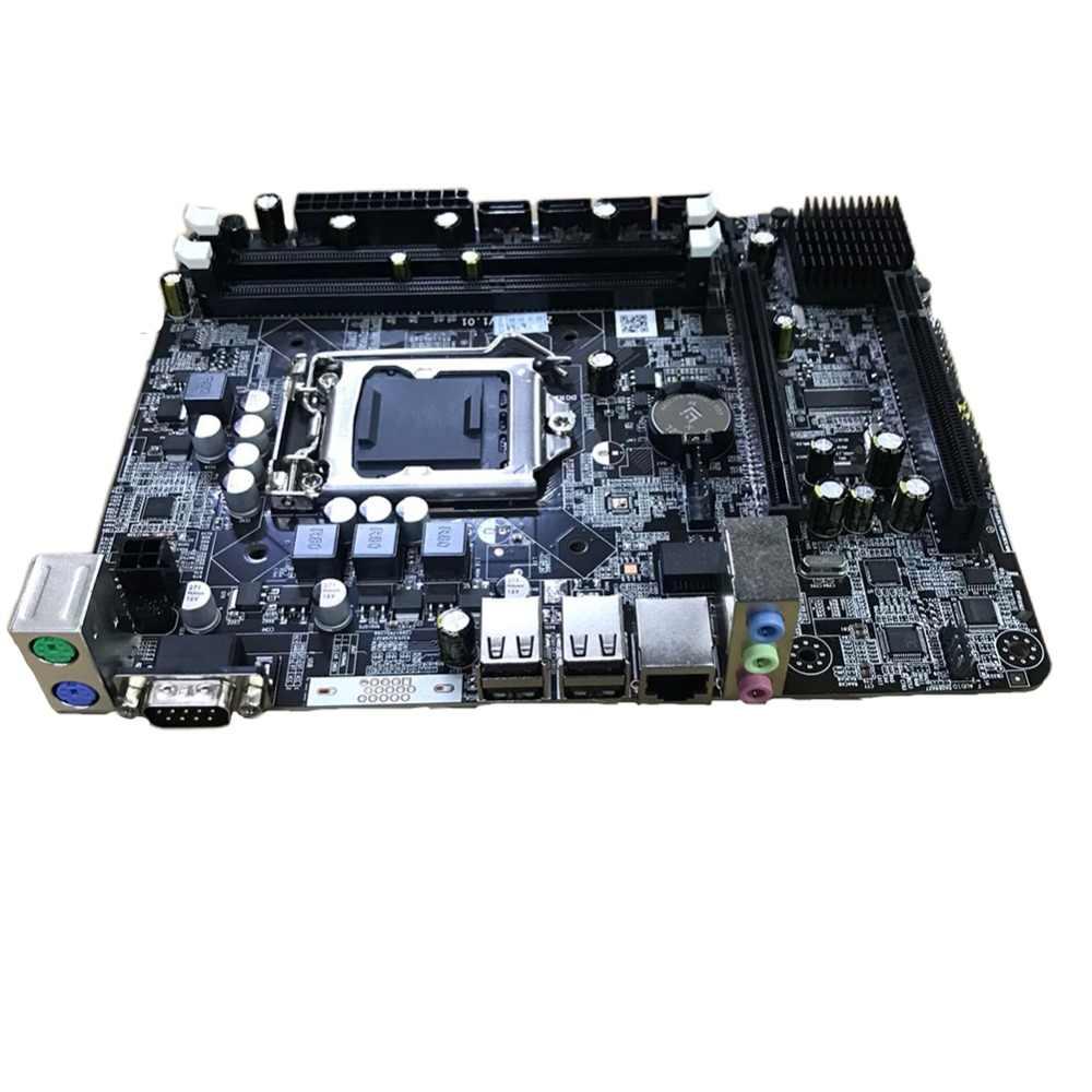 P55-1156 أجزاء وحدة المعالجة المركزية الألعاب LGA 1156 اللوحة عالية الأداء سطح المكتب DDR3 الذاكرة LGA1156 دعم I3 I5 I7 زيون سلسلة