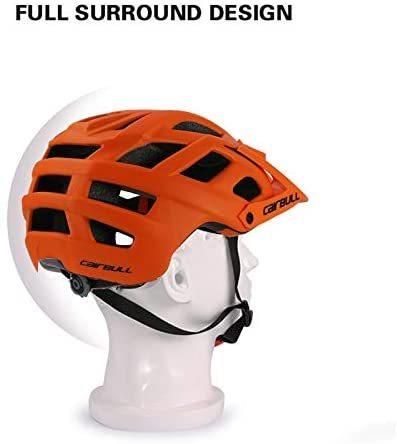 Cairbull trail xc capacete de bicicleta, capacete de segurança para ciclismo mtb super mountain bike ciclismo 55-61cm 3