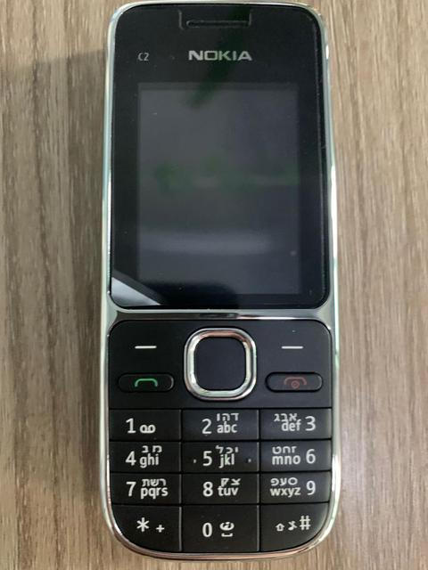 Nokia C2 C2-01 Unlocked GSM Mobile Phone English&Hebrew Keyboard Support Logo On The Button Original Used Cellphones 5