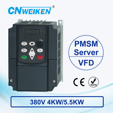 Frequency Converter For Motor 380V 4KW/5.5KW 3 Phase Input And Three Output 50hz/60hz AC Drive VFD Frequency Inverter frn7 5e1s 4c 3 phase 7 5kw brand new multi frequency converter