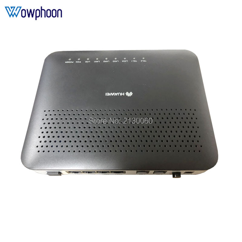 Free shipping <font><b>Huawei</b></font> GPON <font><b>ONU</b></font> ONT 1GE+3FE+2Tel+<font><b>Wifi</b></font>, 100% New and original, English firmware ftth gpon ont modem image
