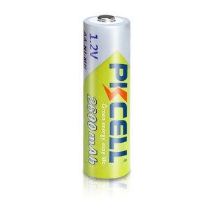 Image 2 - 12個pkcell aa充電式バッテリーニッケル水素1.2v 2600mah 1.2v 2A電池 + 3個のバッテリーボックスホルダーケース