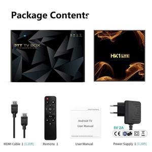 Image 5 - HK1Lite アンドロイド 9.0 スマート tv ボックス 2 ギガバイト DDR3 16 ギガバイト 2.4 3g wifi 4 18k RK3228A クアッドコア H.265 メディアプレーヤー pk hk1mini x96