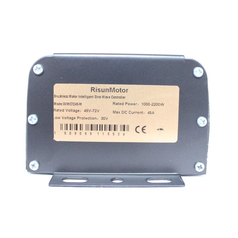 Risunmotor 48V 1500W Ebike Brushless DC Sine Wave Controller+LCD Panel Ebike