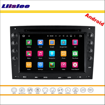 Liislee Car Android Multimedia For Renault Megane II 2003~2010 Car Stereo Radio CD DVD Player GPS Nav Navi Map Navigation System image