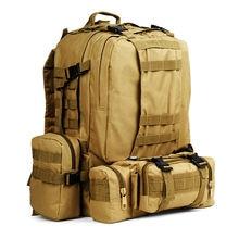 Тактический рюкзак 50 л мужской военный спортивная тактическая