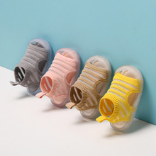Summer Shoes Sandals First-Walkers Infant Baby-Boys-Girls Kids Stripe Mesh Knitting Breathable