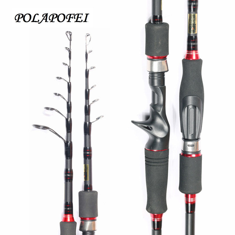 46T Carbon Fishing Rod Pod M Lure Spinning Rod Bait Sea Telescopic Casting Rod Feeder Pole Fly Fishing Fish accessories E228
