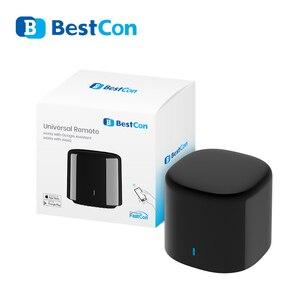 Image 1 - Broadlink RM4C מיני חכם בית אוטומציה חכם WiFi IR מרחוק בקר עבור Google בית עובד עם Alexa