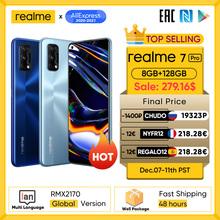 Realme 7 Pro wersja globalna Smartphone 65W szybkie ładowanie linii papilarnych odblokuj pełnoekranowy telefon komórkowy Snapgragon 720G gra telefon komórkowy tanie tanio Nie odpinany 128g CN (pochodzenie) Android W-ekran rozpoznawania linii papilarnych Rozpoznawania twarzy Do 120 godzin ≈64MP