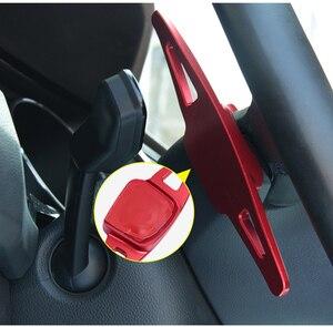 Image 5 - ההנעה מכונית עבור פולקסווגן פולקסווגן גולף 7 MK7 פולו MK6 טוארג רכב הגה הארכת שיפטר אלומיניום את הגה DSG מוט הילוכים