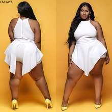 Combinaison col rond sans manches pour femmes, grande taille, col rond, combinaison moulante, sexy, barboteuse, TB5039, été automne