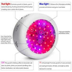 Image 2 - Лампа светодиодная полного спектра для выращивания растений, 150 Вт, 4 шт.