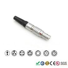 Conector macho FGG 00 0B para Dispositivos de sonido, 2, 3, 4, 5, 6, 7, 9 pines, Timecode de cámara Arri Alexa, Teradek Bond Bolt Pro