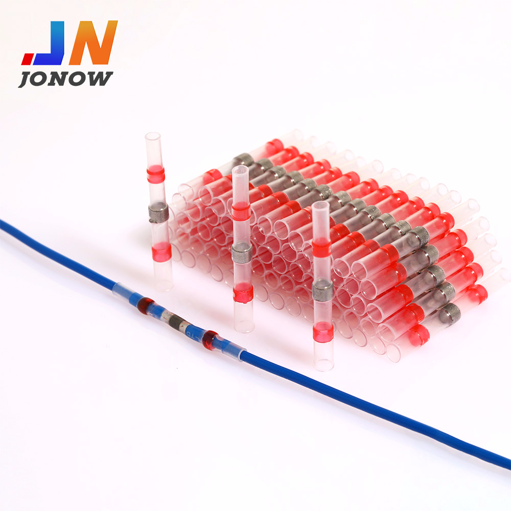 10/50PCS Waterproof Solder Seal Sleeve Heat Shrink Butt Connectors Splice Terminals Wire Connector Faston insulation Electrical