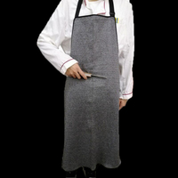 Cut Proof Stab Butcher Apron Anti Cutting Wear Apron Apply To Slaughterhouse Security Work And Glass Processing Top Quality