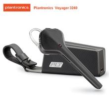 Oryginalny Plantronics Voyager 3240 bezprzewodowy biznesowy zestaw słuchawkowy Bluetooth douszny z etui z funkcją ładowania dla oficjalnego testu wsparcia xiaomi