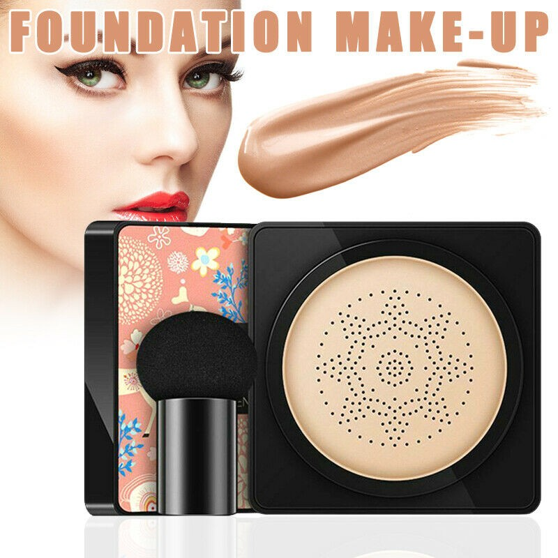 BB & CC Creams Air Cushion Waterproof Light Bright Concealer Foundation with Mushroom Sponge Makeup Drop Shipping #YJ2 image