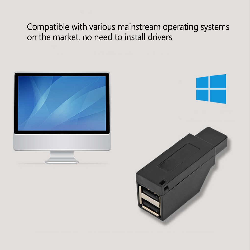 ยี่ห้อใหม่ Universal Mini 3 พอร์ต USB 2.0/3.0 Hub แล็ปท็อป PC ข้อมูลความเร็วสูง USB Splitter Adapter